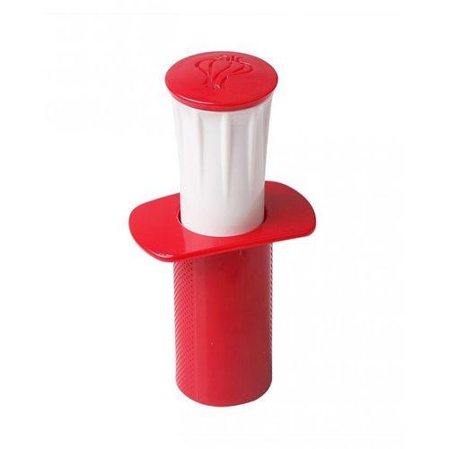 Garlic Masher Peeler - Red