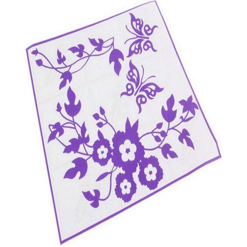 Bathroom Toilet Sticker - Purple