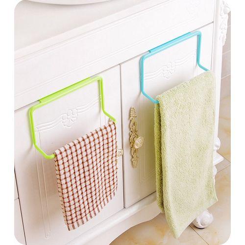 Kitchen Cabinet Towel Rack