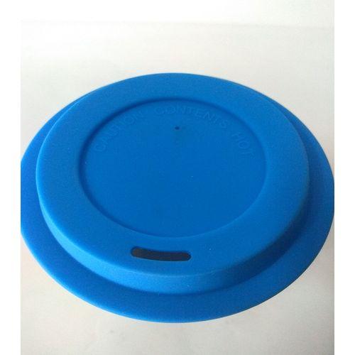 Ceramic Mug With Heat Resistant Silicone Lid