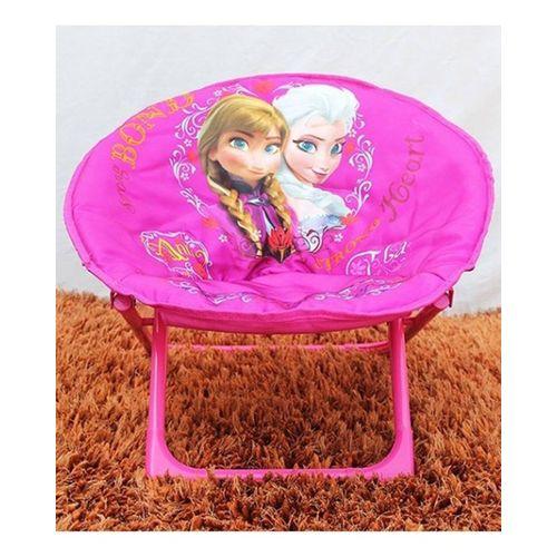 Frozen-Foldable-Saucer-Chair-Pink