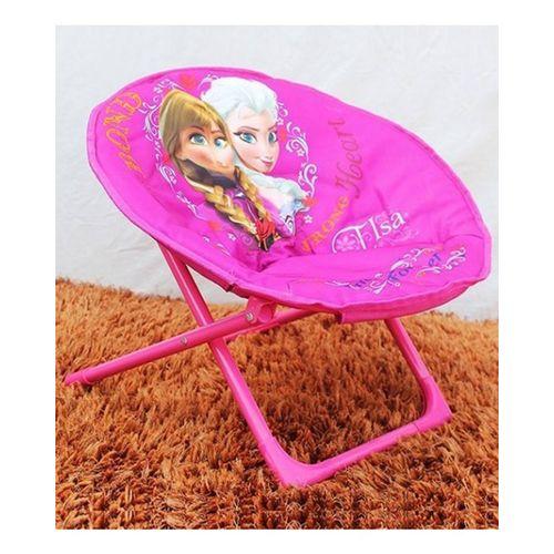 Frozen  Foldable Saucer Chair - Pink