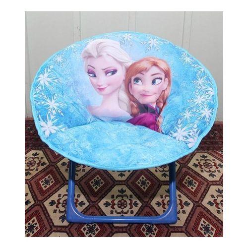 Frozen-Foldable-Saucer-Chair-Blue