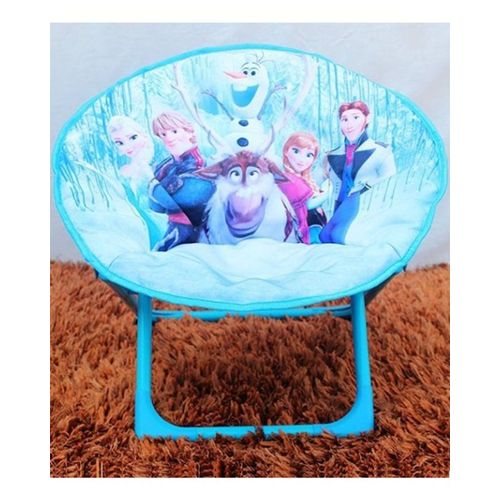 Frozen-Family-Foldable-Saucer-Chair-Blue