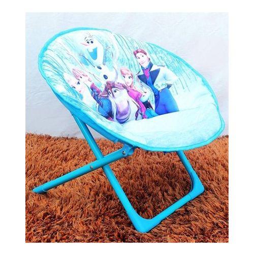 Disney Frozen Family Foldable Saucer Chair For Kids - Blue