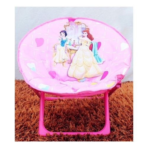 Princess-Foldable-Saucer-Chair-Pink