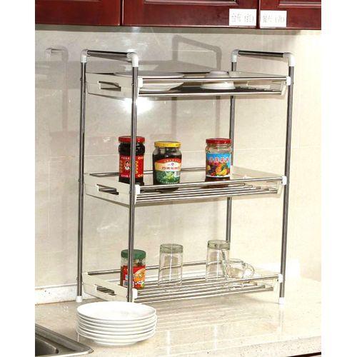 Compact-Multi-Purpose-Storage-Rack-Silver