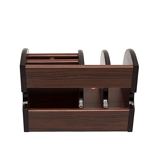 Wooden Pen & Stationery Holder Bj8828