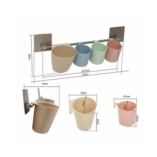 Kitchen Storage Basket with Magic Sticker