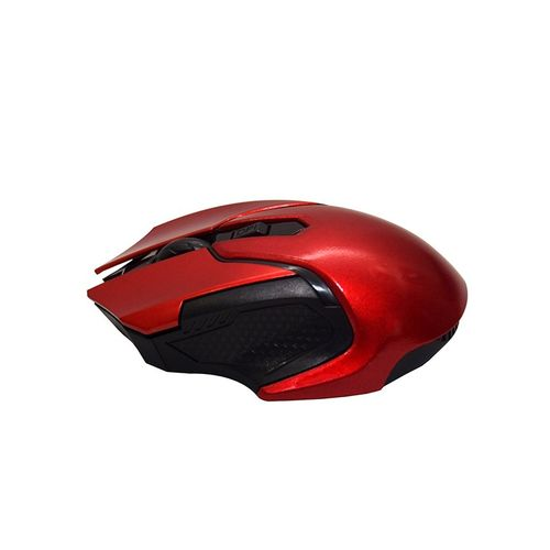 Jx 2-4 Ghz Optical Wireless Mouse - Red