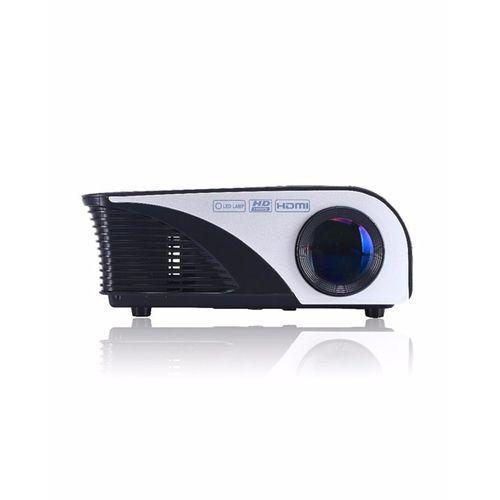 LED Mini HDMI Home Cinema Projector - Black