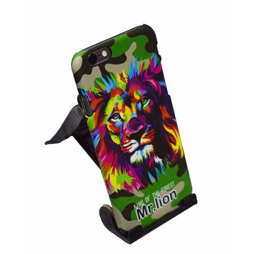 Night Glow Animal Print Case For iPhone 6 & 6s-Mr-Lion