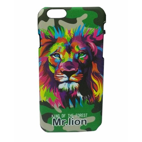 Night Glow Animal Print Case For iPhone 7 & 7s-Mr-Lion