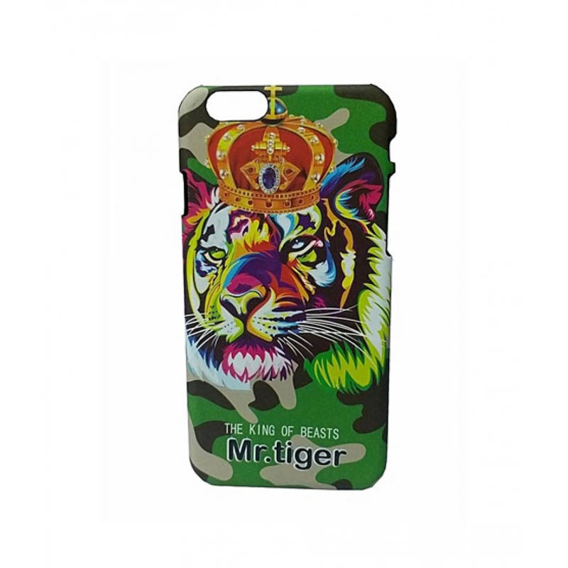 Night Glow Animal Print Case For iPhone 7 & 7s-Mr-Tiger