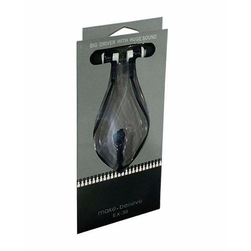 Zipper Style Handsfree - Black