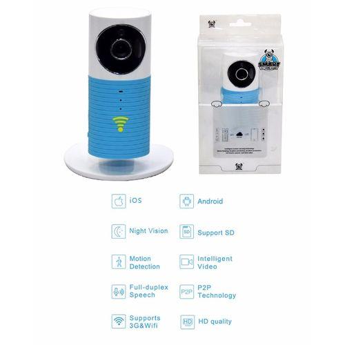 HD Wifi Smart Ip Camera - Blue