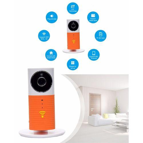 HD Wifi Smart Ip Camera - Orange