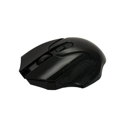 Jx 2-4 Ghz Optical Wireless Mouse - Black