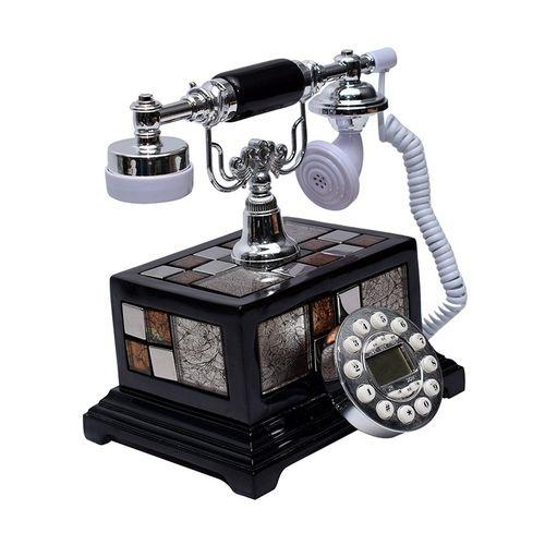 Elegant-Classical-Harmonious-Antique-Telephone-Set-Black