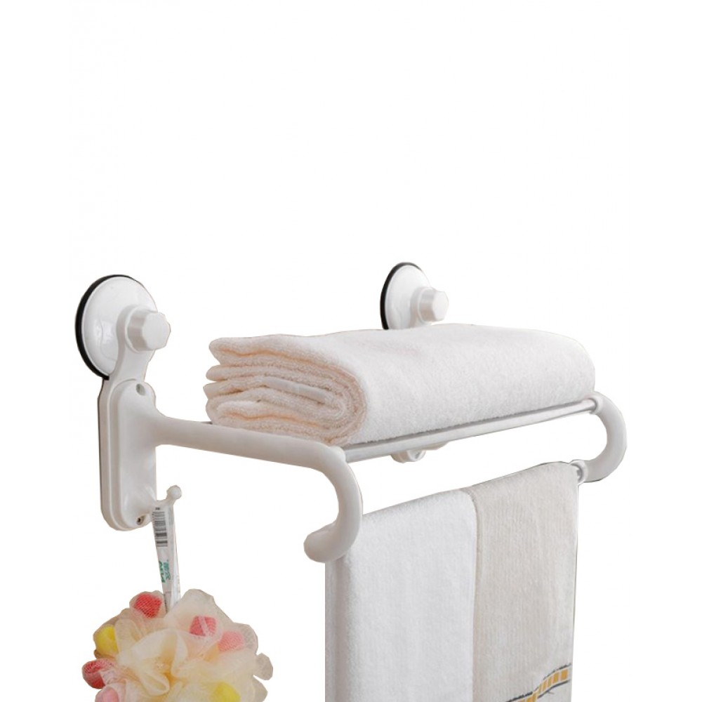 Bath Towel Rack With Suction Cup