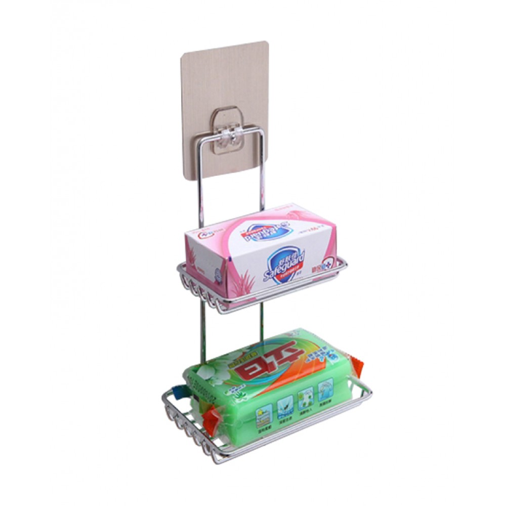 Double-Layer-Soap-Holder