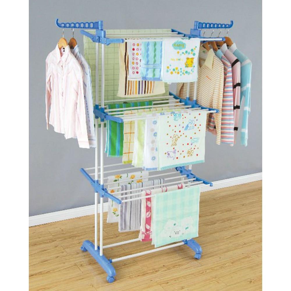 Three-Layer-Cloth-Rack