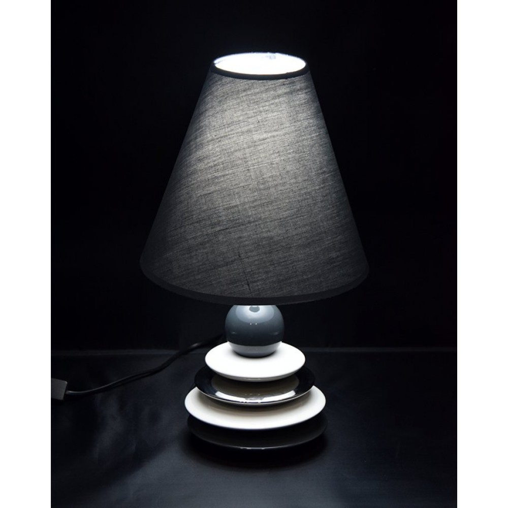 Side-Table-Lamps-Plates-Grey