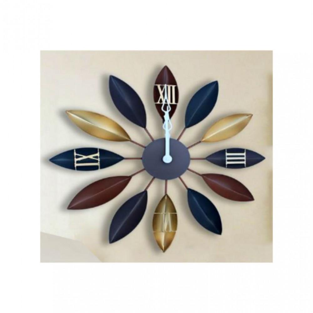 Antique Petal Wall Clock - Large