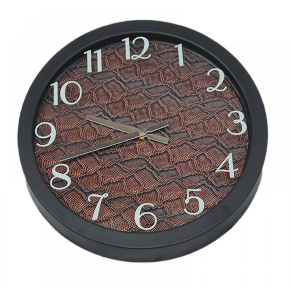 Fabric Texture Wall Clock Large 02