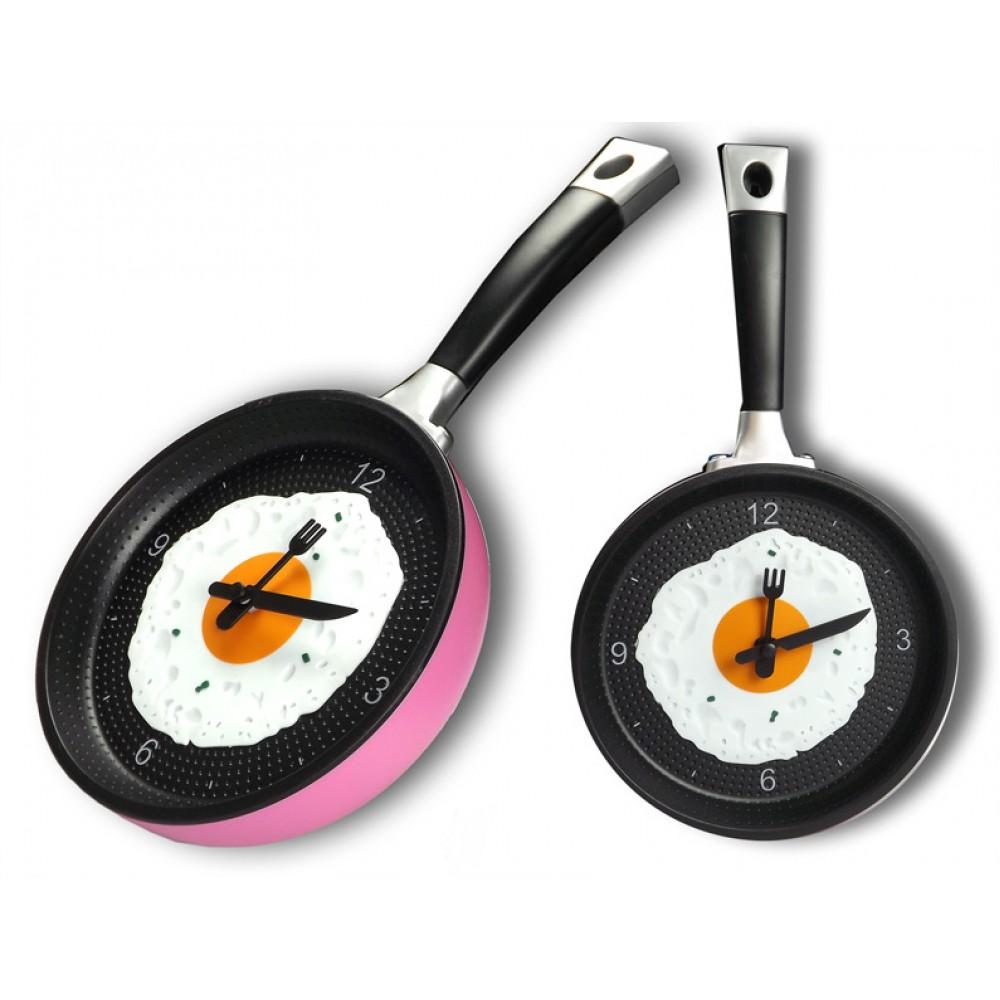 Frying-Pan-Kitchen-Wall-Clock