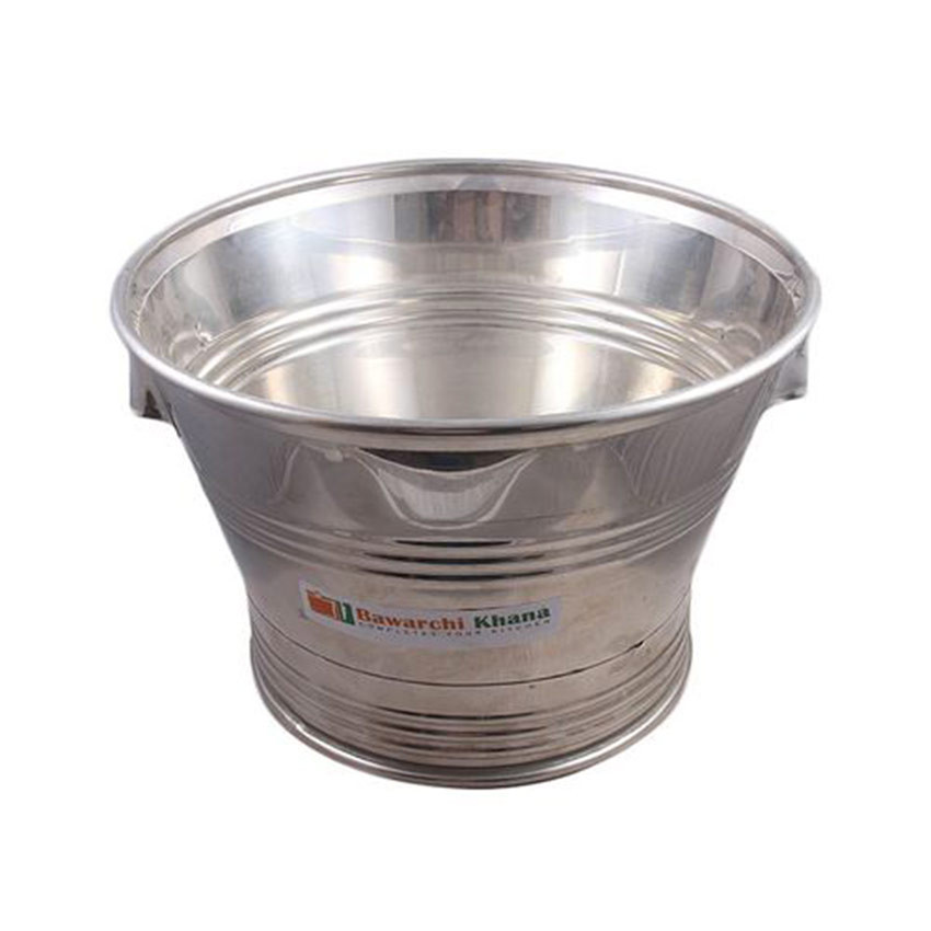 Stainless Steel Tub Silver