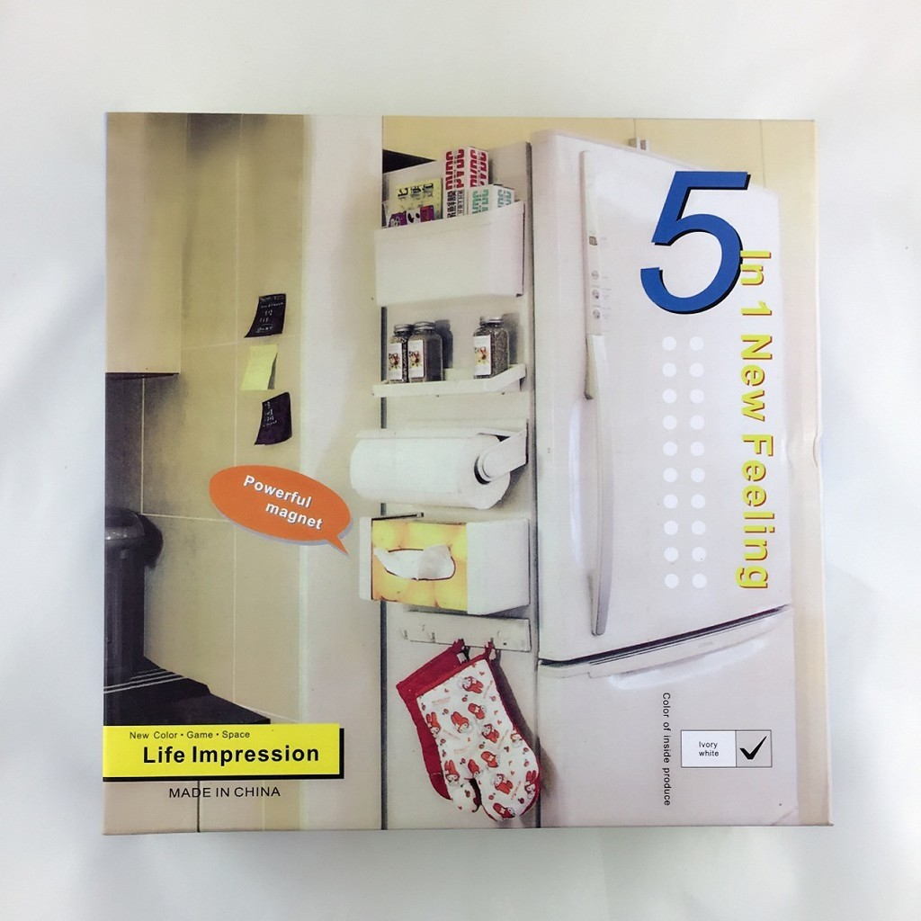 Magnetic-Shelf-Storage-Set