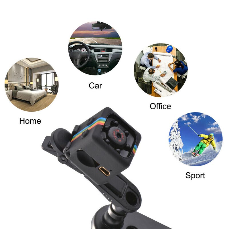 SQ11 HD Night Vision Mini Hidden Spy Secrete Small Camera