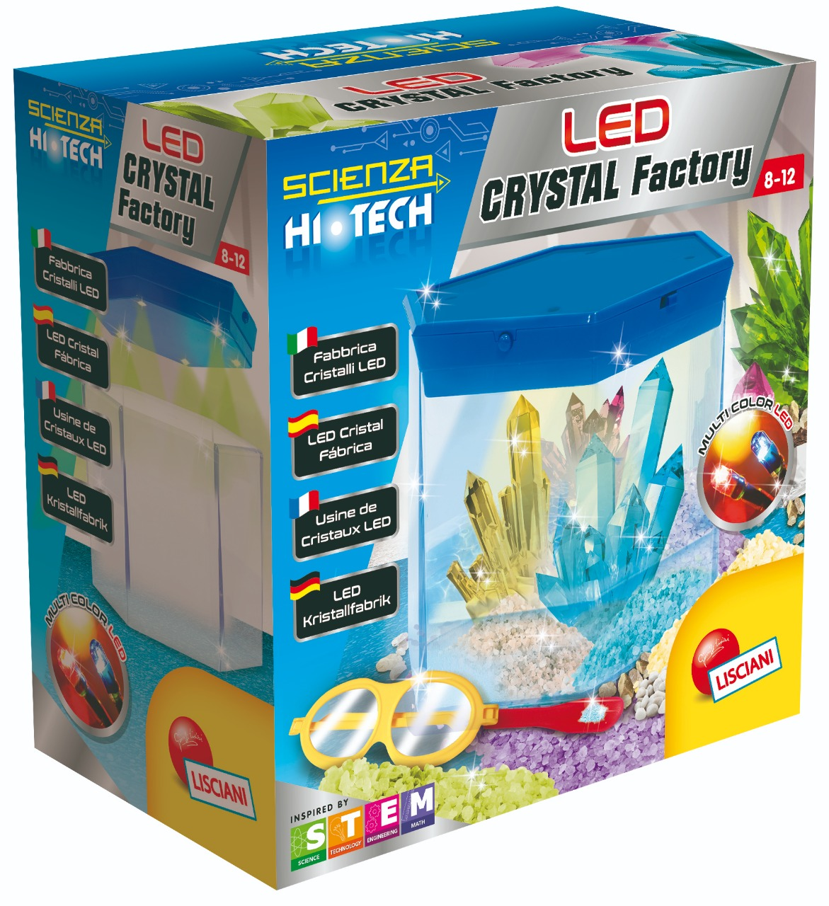 LISCIANI LED CRYSTAL FACTORY SCIENCE TOY