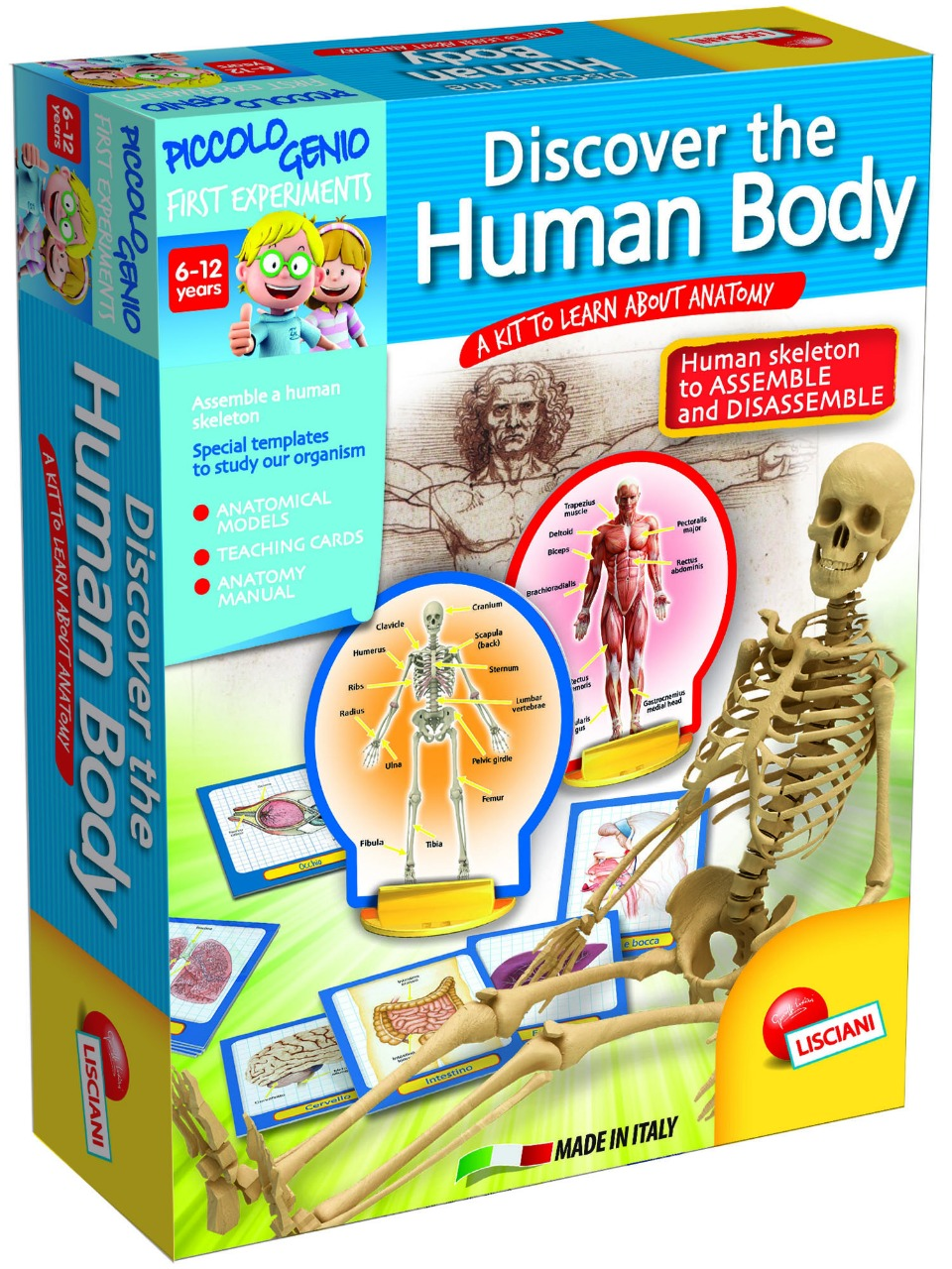 LISCIANI – DISCOVER THE HUMAN BODY- SCIENCE TOY