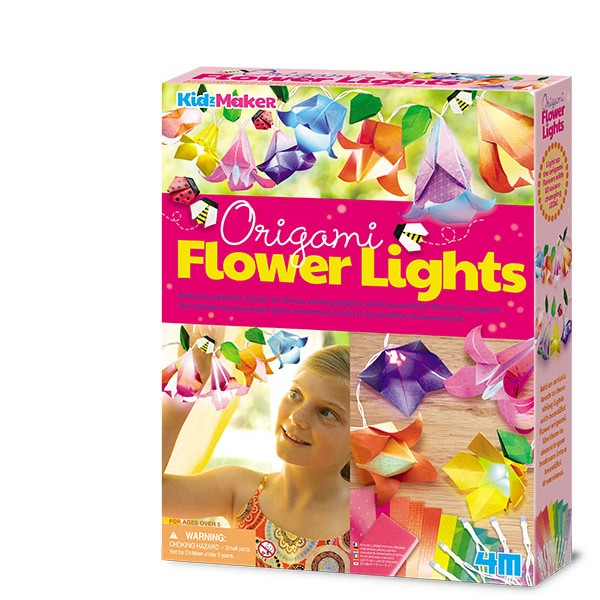 4M-Origami Flower Lights