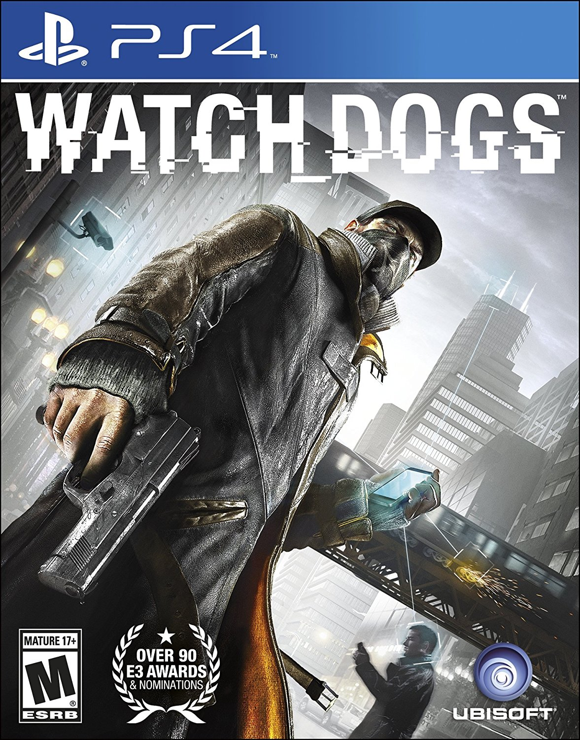 Sony-playstation-4-dvd-Watch-Dogs-PS4