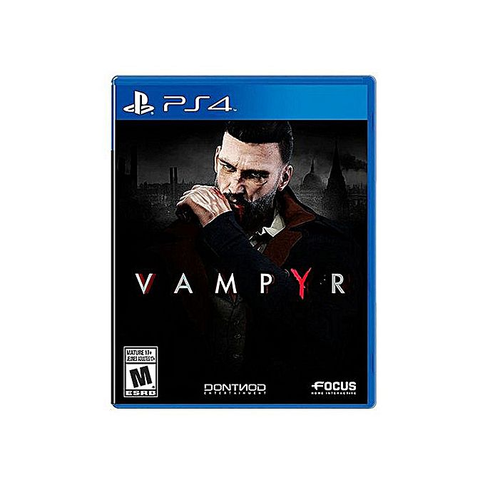 Maximum-Games-playstation-4-DVD-Vampyr-PS4-GAME