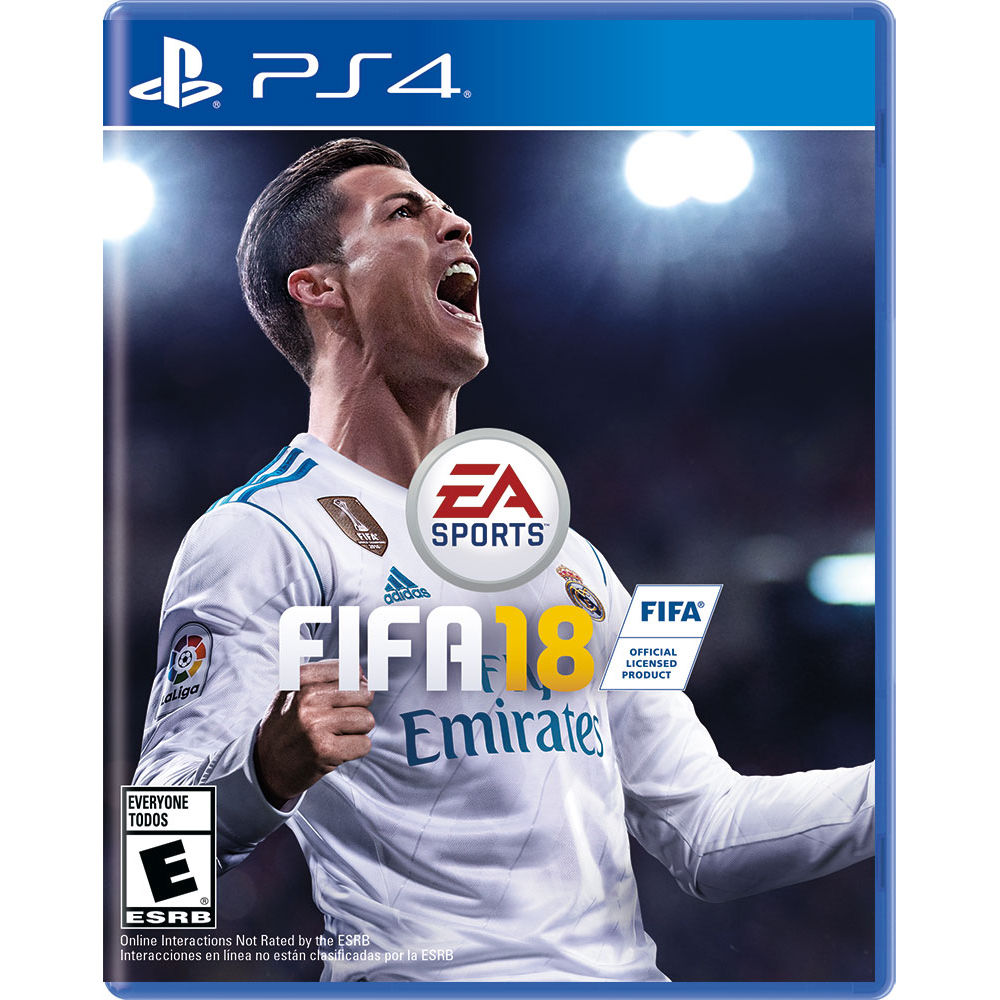 Sony Pack of 2 - FIFA 18 DVD PS4 Game & Kontrol Freeks