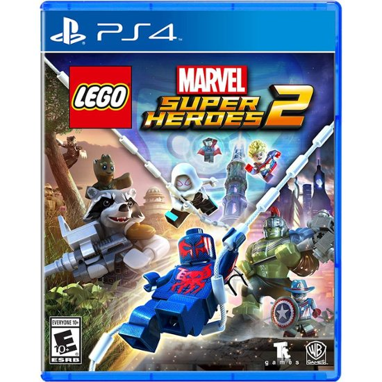 Sony-PLAYSTATION-4-DVD-LEGO-MARVEL-SUPER-HEROES-2-PS4-GAME