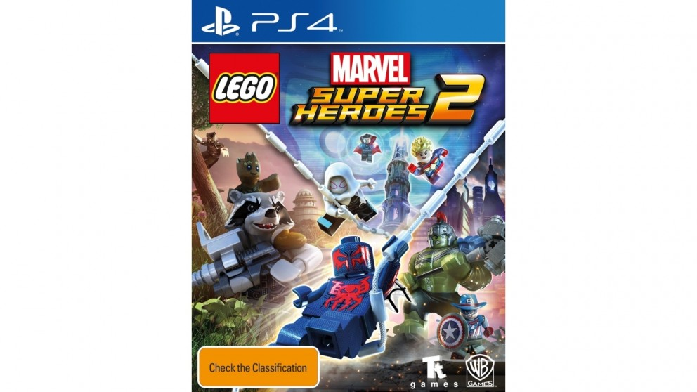 Sony PLAYSTATION 4 DVD LEGO MARVEL SUPER HEROES 2 PS4 GAME
