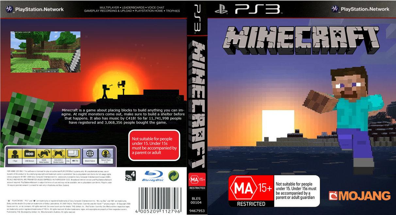 Sony-playstation-3DVD-MINECRAFT