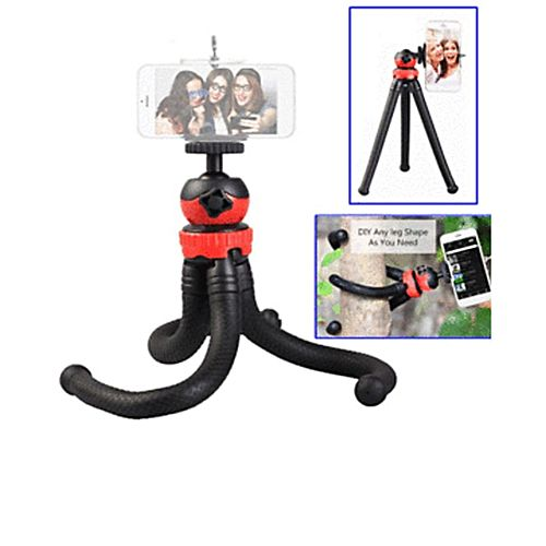 Octupus-Flexible-Head-Tripod-Mz-305-Black