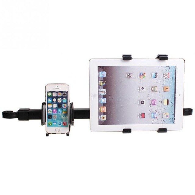 Tablet-Smartphone-Car-Back-Seat-Twin-Holder