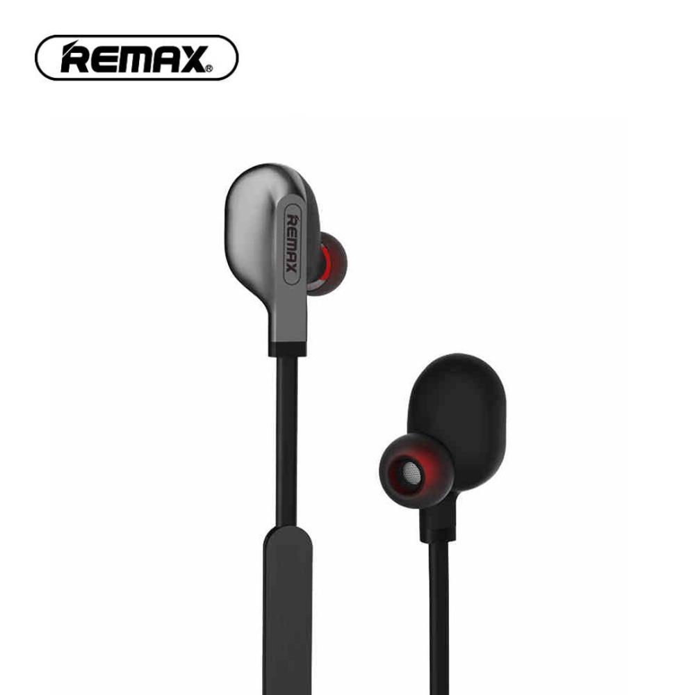 Remax Bluetooth S18 Wireless Sports Earphones - Black