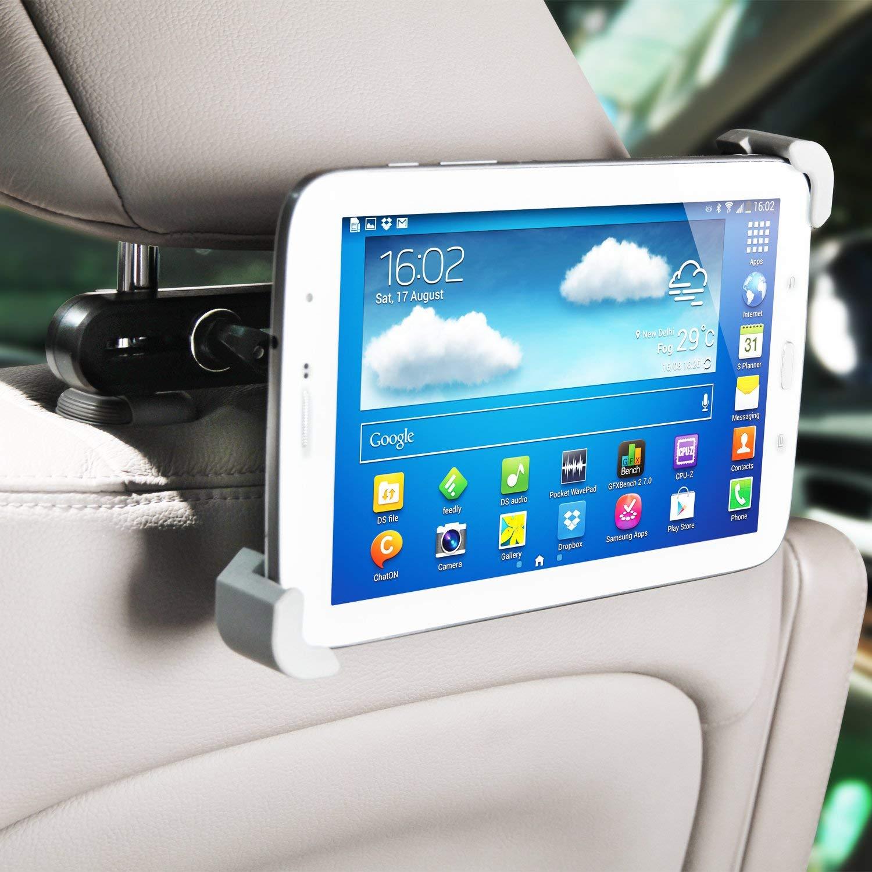 Universal-Car-Back-Seat-Tablet-Holder-Black