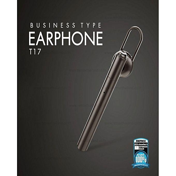Remax-Bluetooth-Rb-T17-Wireless-Single-Side-In-Ear-Earphone