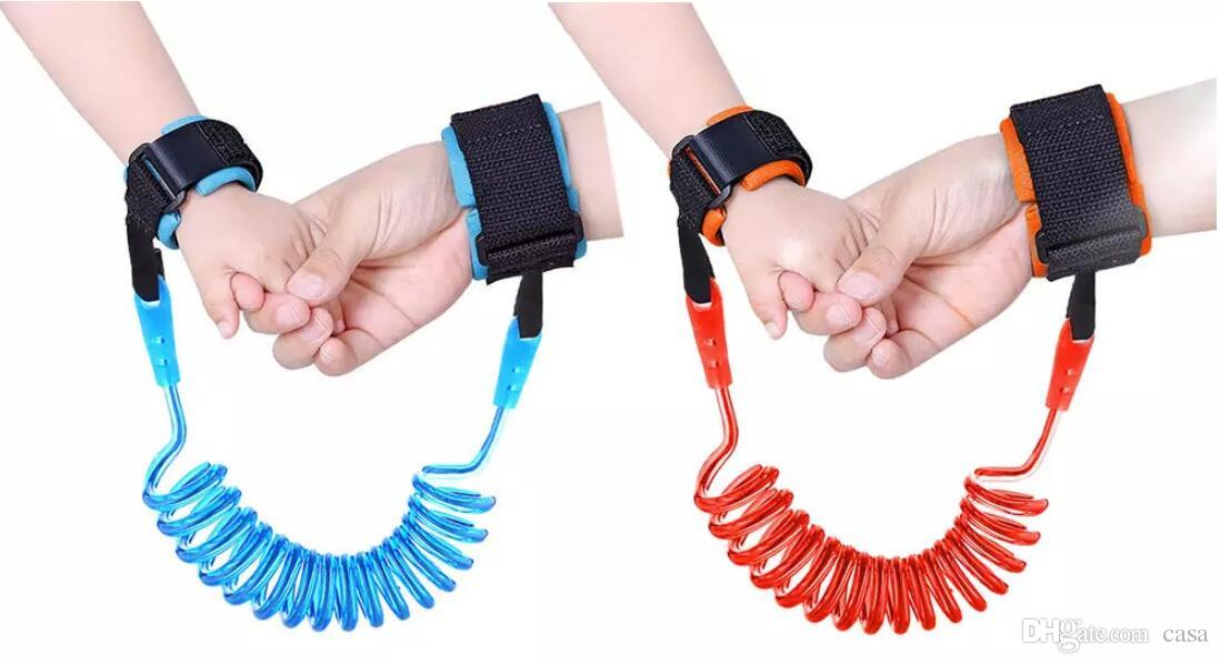 Anti-Lost-Wrist-Link-Child-Band-Hand-Safety-Strap-Baby-Kids