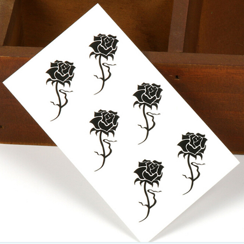 Tattoo Flower Waterproof Temporary Tattoos