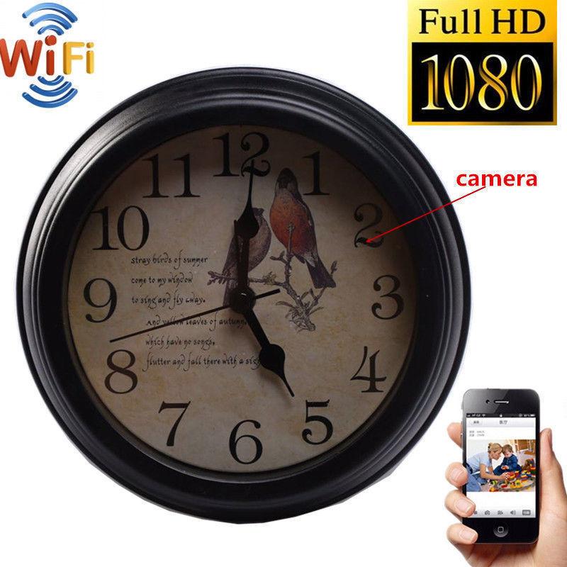 HD  Wifi Wireless Spy Hidden Secrete Camera in Wall Clock